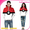 Plus Size 3D Elves Ball Digital Printing Hoodies Custom For Couple