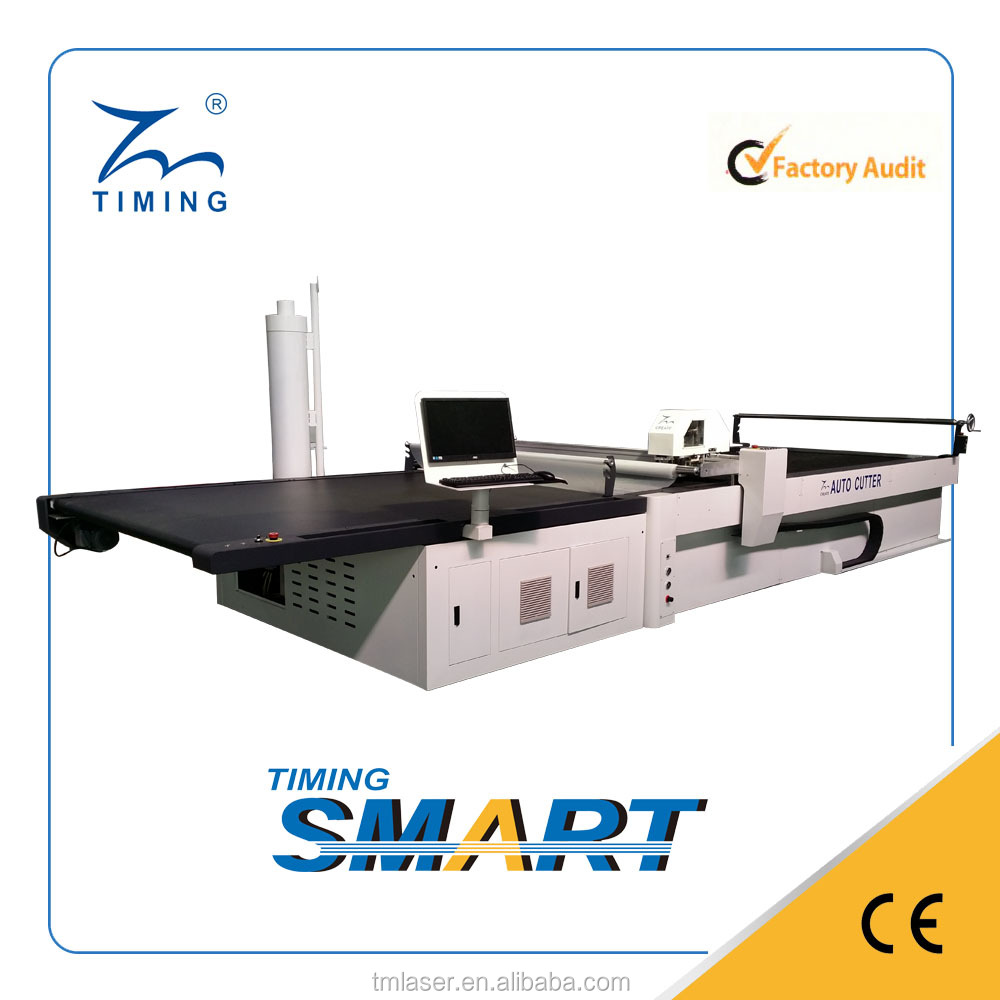 computerized fabric cutting machine for hat material
