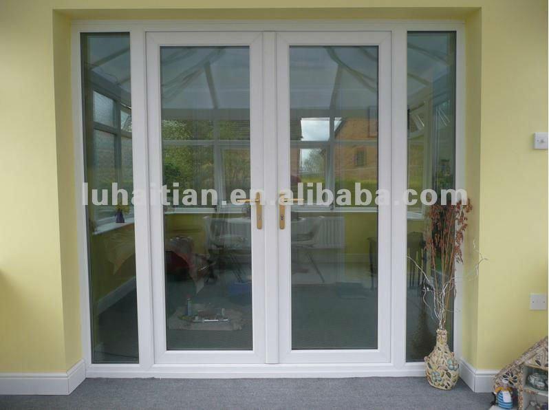 Pvc puertas interiores con vidrio templado ventanas - Puertas de vidrio para interiores ...