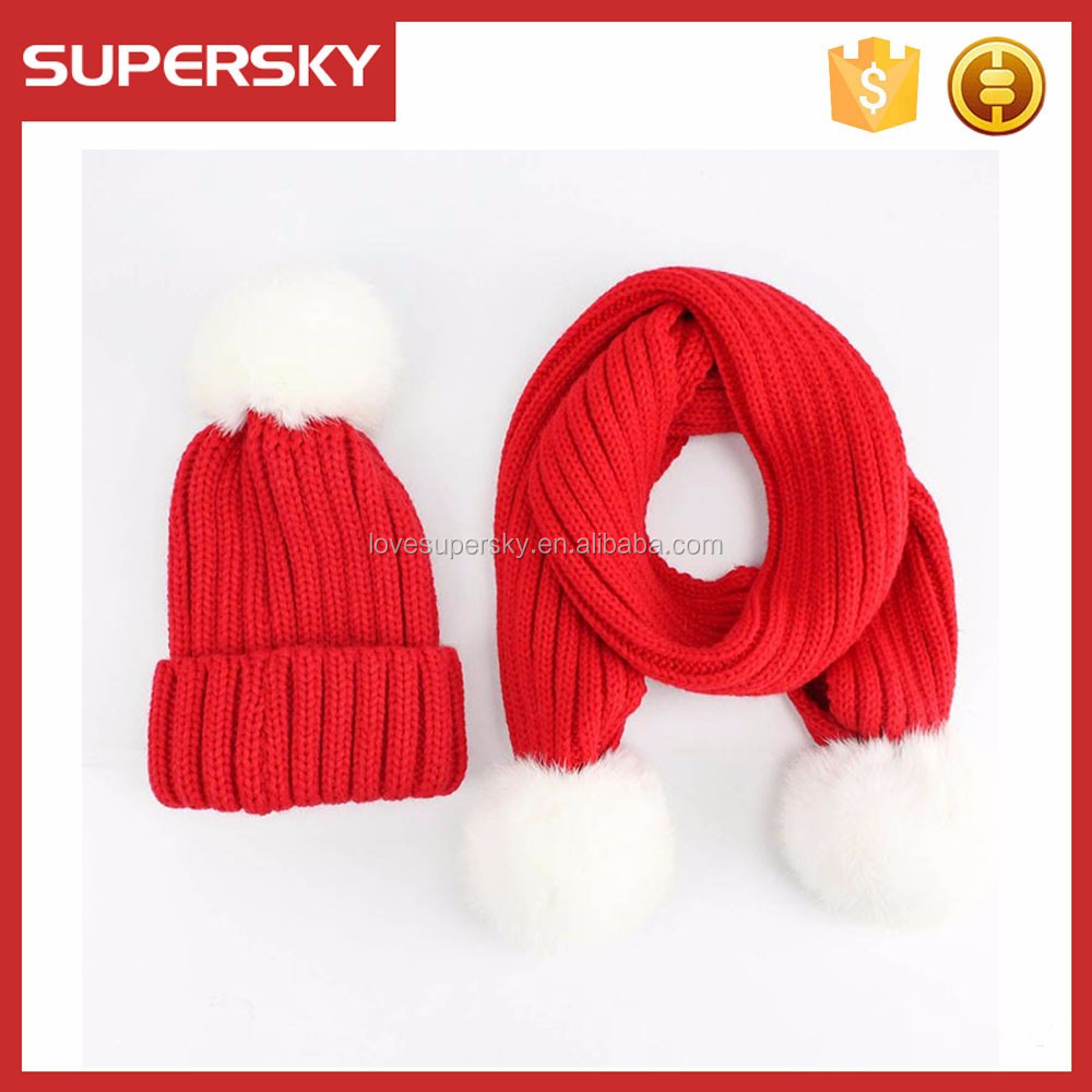 a2fd2e1af67 T111 Winter 3 in 1 Women Soft Warm Thick Cable Knitted Hat Scarf And Gloves  Winter