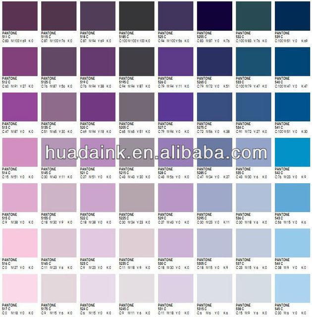 تكلفة فعالة ، لون ثابت ألوان بانتون أحبار البانتون التجارية - Buy ...