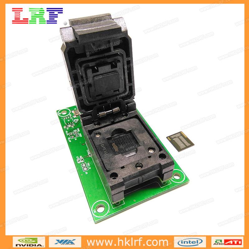 Emmc Emcp Test Socket 3 In1 Usb Adapter For Bga153 Bga169 Bga162 Bga186  Bga221 Data Recovery - Buy Emmc Emcp Test Socket Adapter,Bga153 Bga169