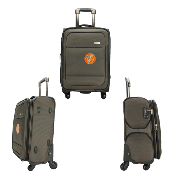 Lightweight 4 Wheel Textile Luggage Soft Luggage,Trolley Suitcase ...