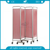 AG-SC001 Waterproof 4 fold ward medical screen folding