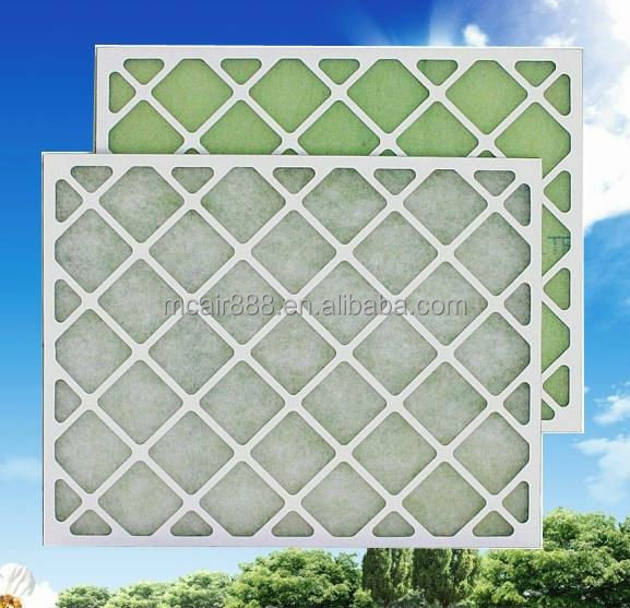 G2 G3 G4 panel air filter with high quality