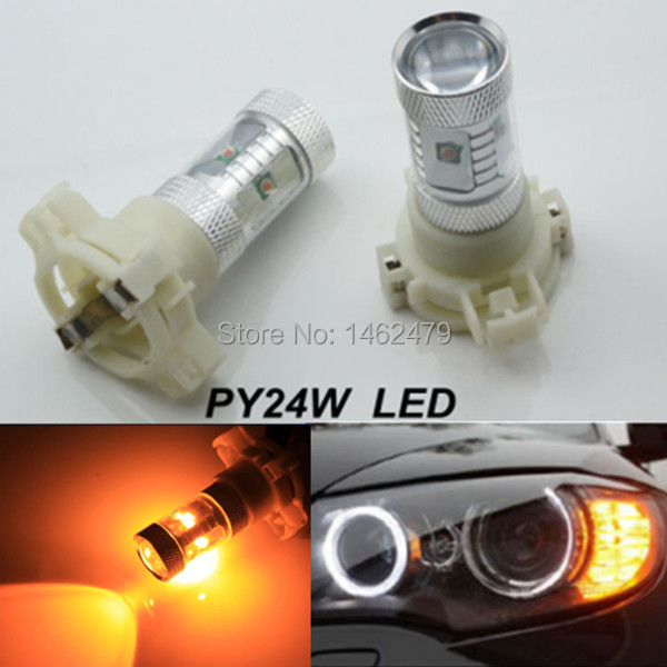py24w high power cree led bulb front turn signal lights. Black Bedroom Furniture Sets. Home Design Ideas