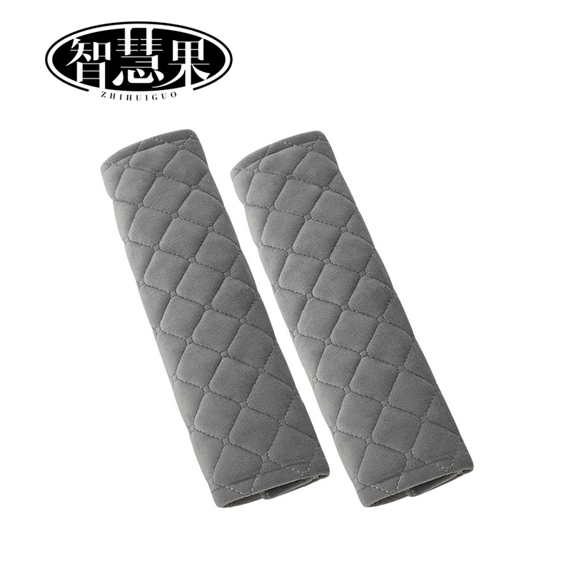Shoulder Strap Cover Pad Neck Protect Cushion for Car Sedan Truck Backpack Handbag Warm Yellow Genuine Sheepskin Wool Car Seatbelt Cover 10 inch Length