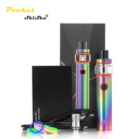 Hot original 2ml/ 4ml 60W Vape Pen 22 Kit Light Edition 1650mAh vape pen 22 smoke in Stock