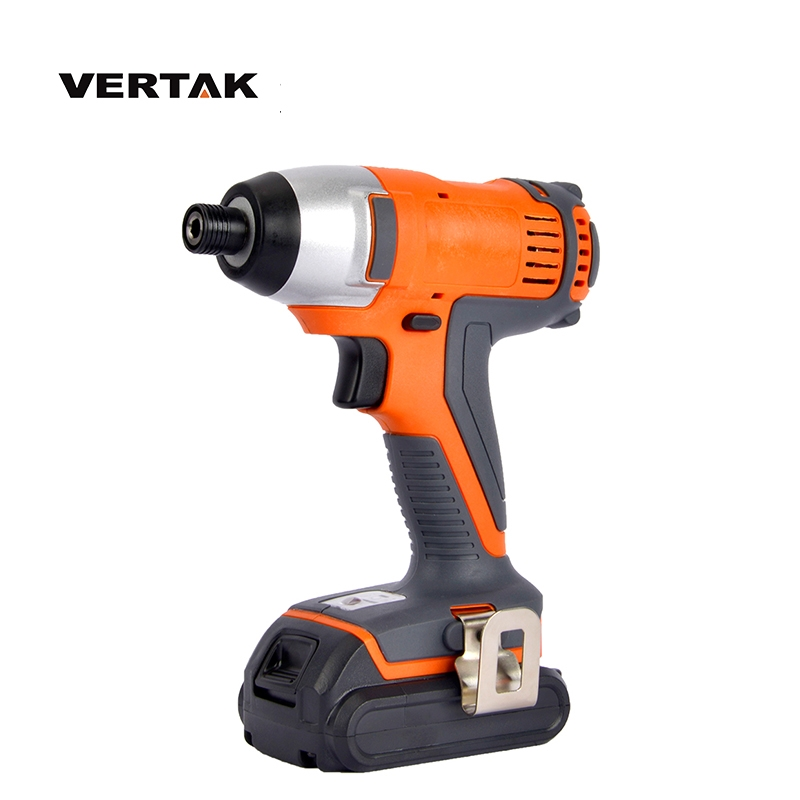 VERTAK 18v cordless impact driver <strong>drill</strong> With 2000mAH Battery and Fast Charger