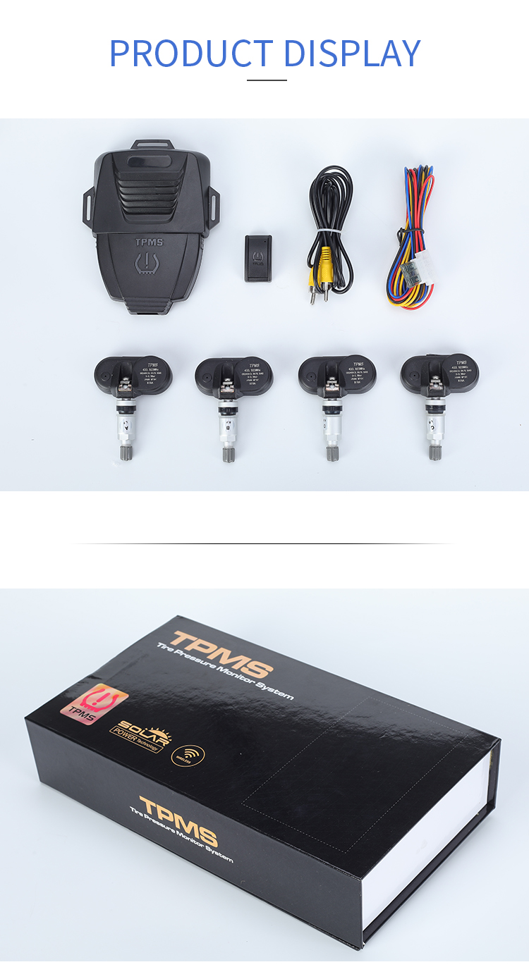 Hot selling sensor TPMS T90 external internal tmps tire pressure monitoring system pressure tire sensor for cars truck