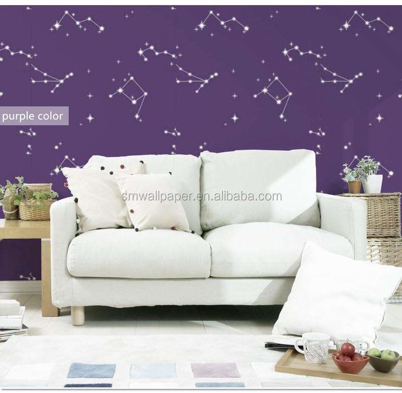 Venta Caliente De Diseño De Imagen Papel Decorativo Para Las Paredes De La Pared  De Dormitorio