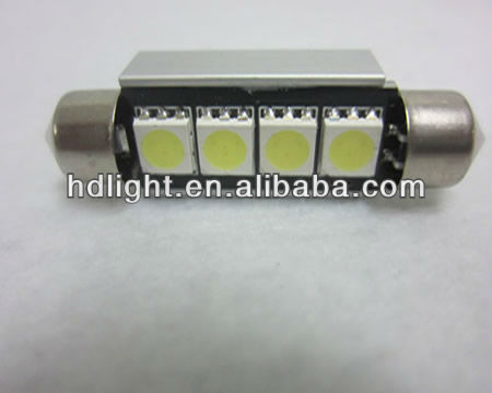 led festoon dome light 4SMD CANBUS Auto LED bulb/Car indoor reading lamp widely used lighting Bulb