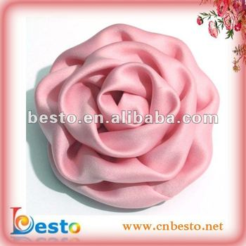 Cf0079 factory wholesale beautiful ruffle rosette pink fabric silk cf0079 factory wholesale beautiful ruffle rosette pink fabric silk flower brooch mightylinksfo
