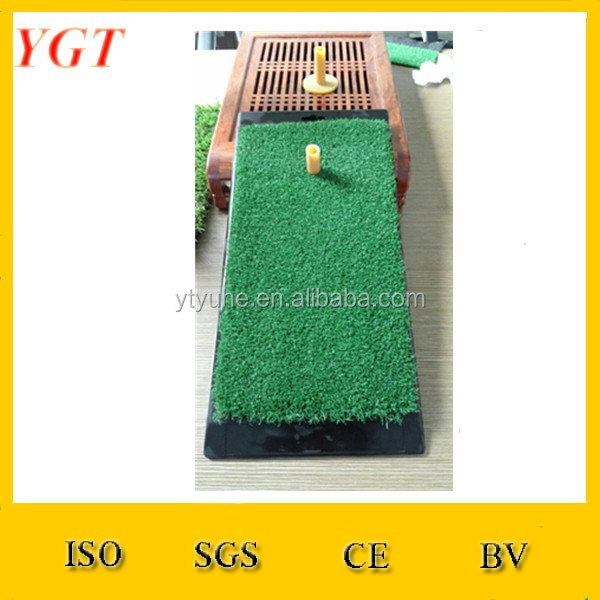 YGT-A40 Fake Grass Golf Putt Putter Mat Matte / Mini Golf Training Aid