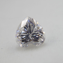 2019 Hot aangepaste losse diamant wit D kleur 6.5*6.5mm hart vorm losse moissanite