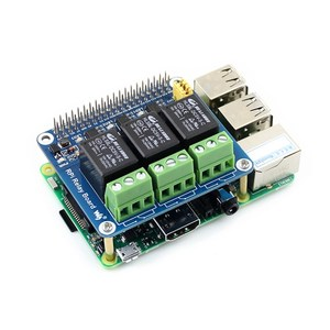 Raspberry Pi Power Relay Board Expansion Module Shield Supports RPi A+/B+/2 B/3 B for Home Automation Intelligent