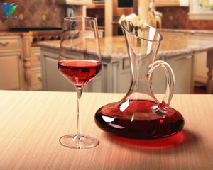 High Quality Wholesale Smoke Red Wine Glass Cup For Gift Hotel Bar