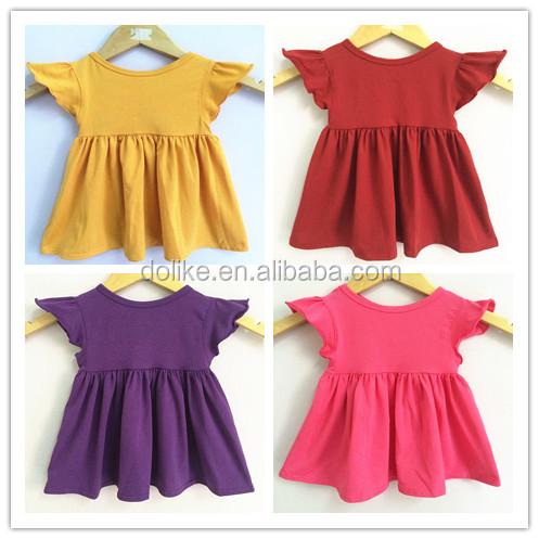 New Arrivalfashion Design Small Girls Dress Pretty Design Baby ...