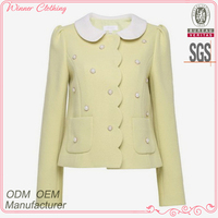 Chinese clothing manufacturers direct brand name women winter coat