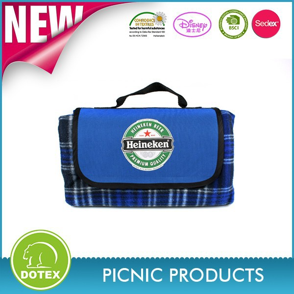 Promotional foldable picnic blanket /portable picnic mat wholesale / cheap custom picnic cushion