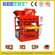 Eco 7000 Plus diesel engine block and brick making machine /auto brick maker machine