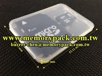 For Sandisk SA1 memory card clamshell plastic box packaging design