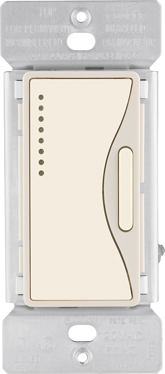 Eaton 9542DS ASPIRE Smart Accessory Dimmer with Preset, Desert Sand