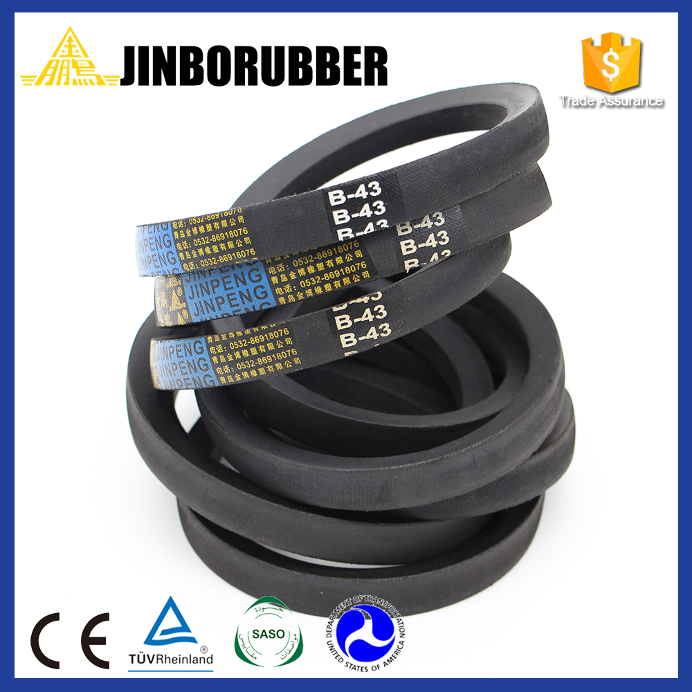 Commericial furniture Rubber Double Angle V belt AA/BB/CC for Power Driving &amp with high quality