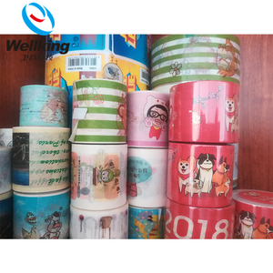 Wall Tape Sticky Printed Opp Adhesive Tape Roll