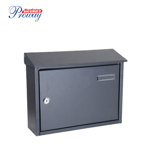 hot sale outdoor wall mounted cast aluminum mailbox