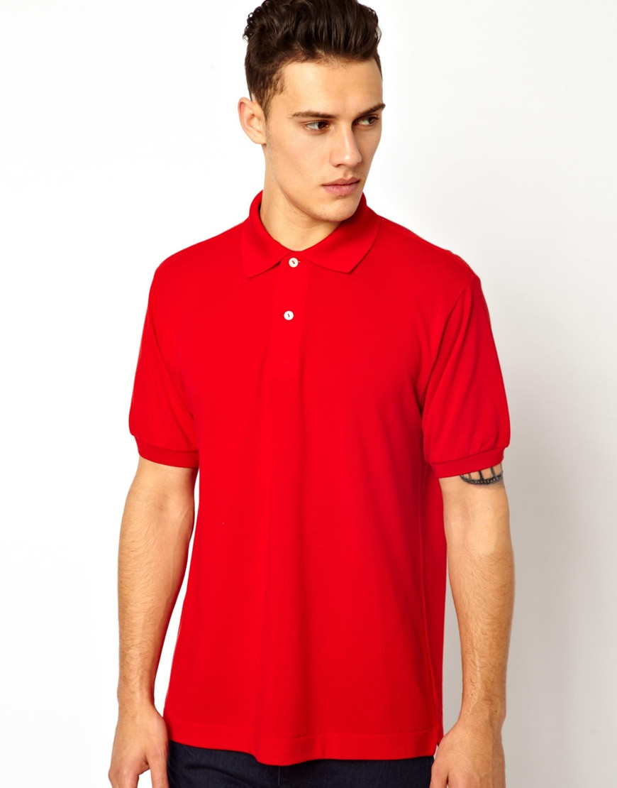 Men plain red polo shirts cheap for wholesale buy red for Where to buy polo shirts cheap