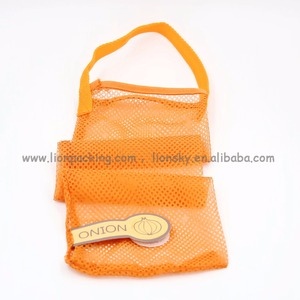 Promotional vegetable carrying onion mesh bag