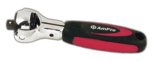 MINTCRAFT 900060 Stubby Ratchet with 1//4 and 3//8-Inch Drive