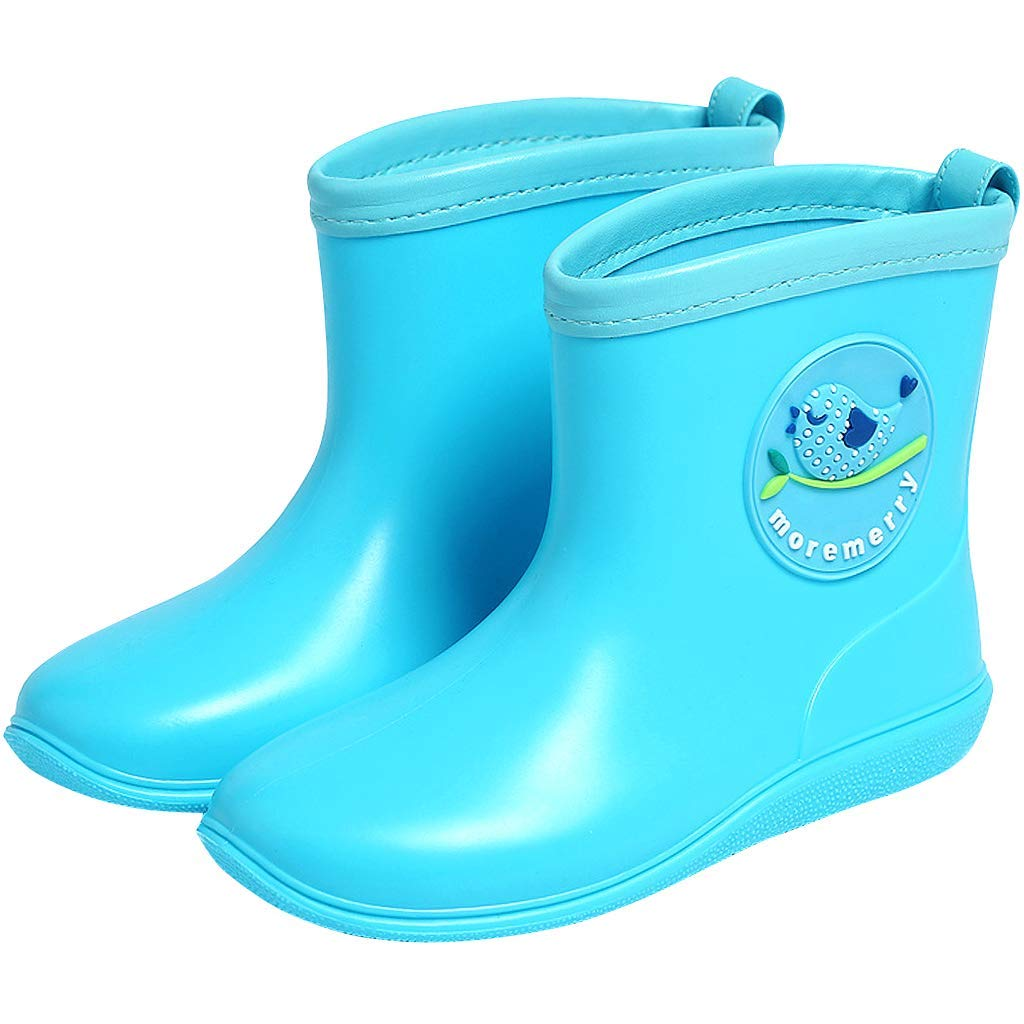 2bb90a6c20f554 Get Quotations · Kids Wellies Waterproof Rain Boots Water Shoes Wellingtons  Anti-Slip Toddler