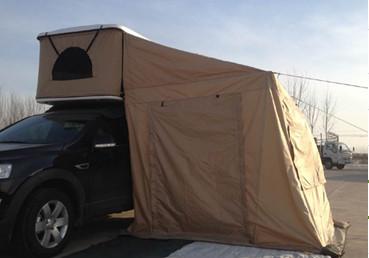 Pop Up Car Camping Aluminum Ladder Hard Shell Roof Top