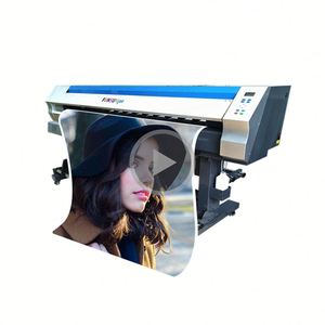 eco solvent printer 1.8m decal sticker printing machine for banner