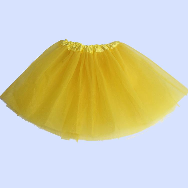 Black Yarn Tutu Cheap Adult Dance Ballet Short Skirt Dress