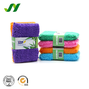 5$ Coupon Hot Sell Magic Cleansing Viscose Scouring Pad Kitchen Cleaning Dish Sponge