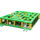 China Giant Inflatable Carnival Maze Outdoor Games For Adults Sale