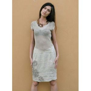disfruta del precio inferior estilo moderno Amazonas Casual Bordado A Mano 100% Vestido De Lino - Buy Casual Vestido De Lino  Bordado Product on Alibaba.com