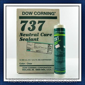 Neutral Dow Corning 737 Rtv Silicone Sealant, Neutral Dow