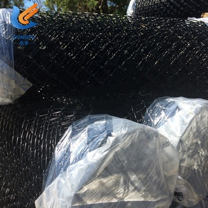 paint chain link fence black for sale