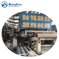 3400mm kraft corrugated paper making machine price waste carton recycled production line from paper mill