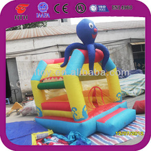 Professional octopus kids bouncy castle for sale