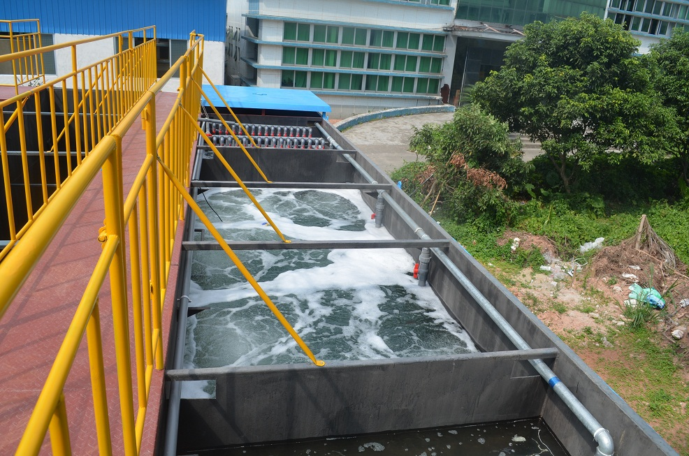 10tons Day Sewage Treatment Plant With Anaerobic Aerobic