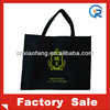 Black printing design non woven shopping bag / non woven tote bag