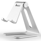 Table universal adjustable standing rotating aluminium tablet holder phone stand for desk with multi-angle