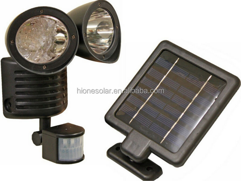 22 luz solar da segurança do sensor de movimento do jardim do diodo emissor de luz