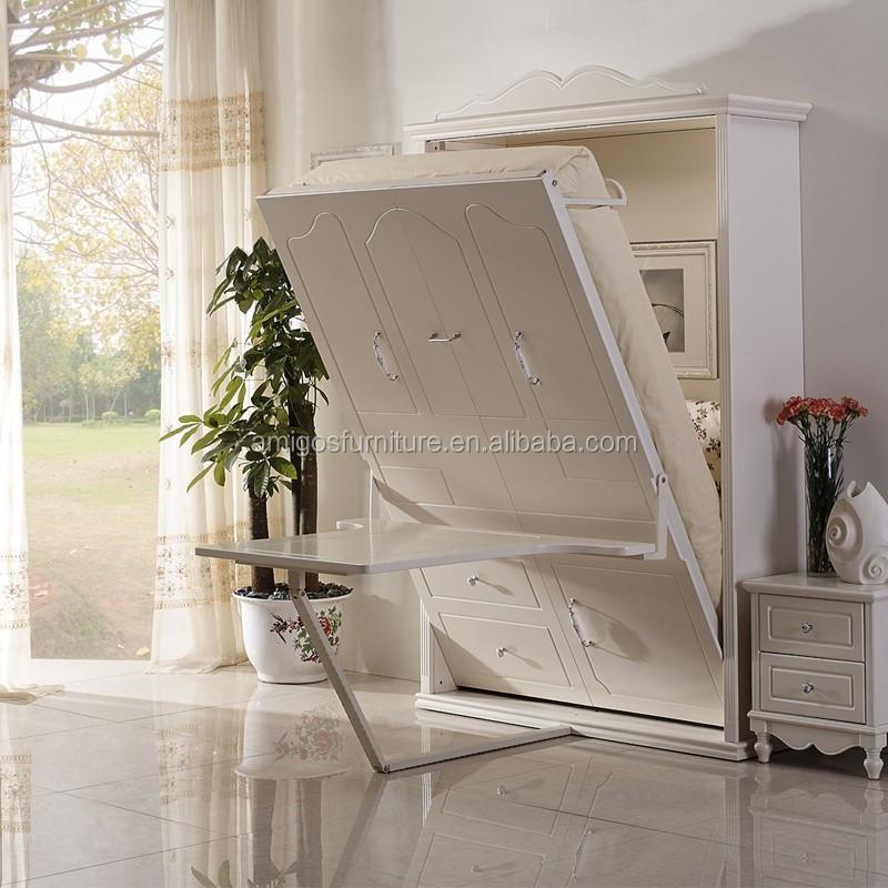 versteckte wandbett mit schreibtisch und stuhl bett produkt id 60493743452. Black Bedroom Furniture Sets. Home Design Ideas