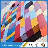 Factory price ACP wall cladding/wall panel/wood plastic composite wall panel